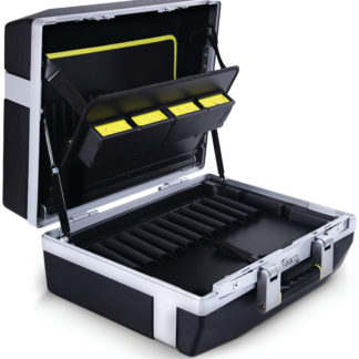 Raaco ToolCase Premium XL 34 4F åpen - innredning